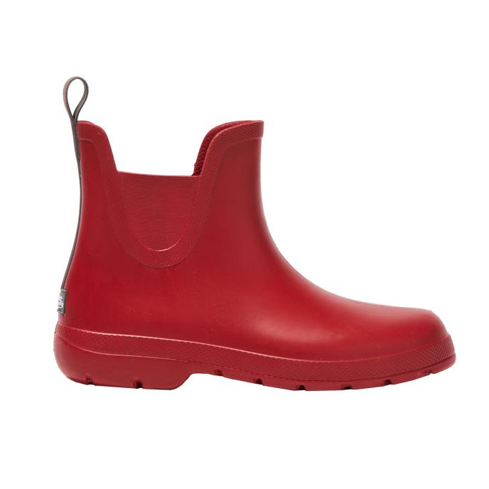 Cirrus Ladies Chelsea Ankle Rain Boot Red