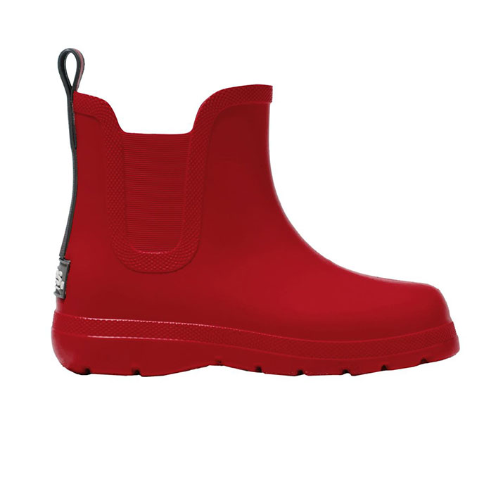 Cirrus Childrens Chelsea Rain Boot Red