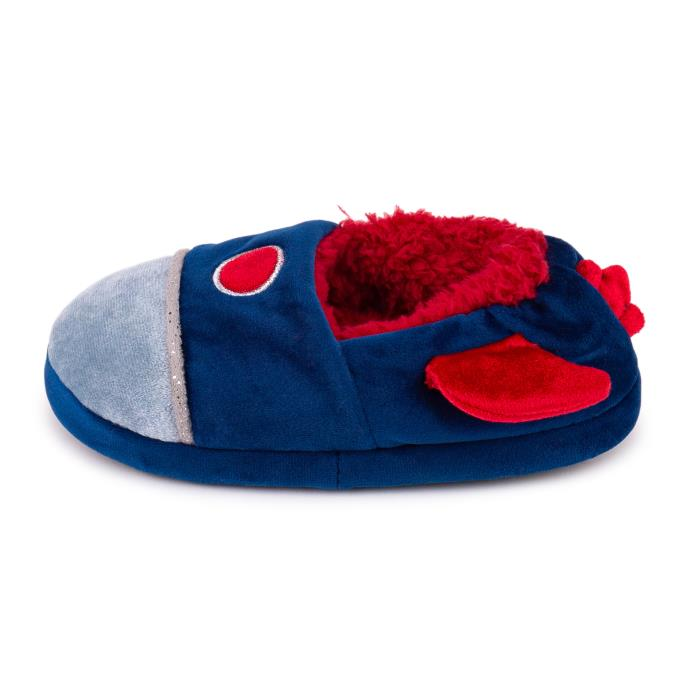 totes Childrens Novelty Slipper Rocket