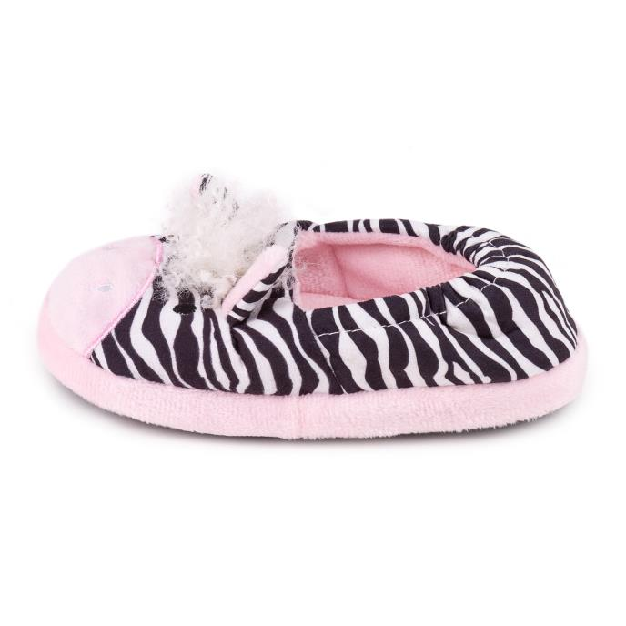 totes Childrens Novelty Slipper Zebra