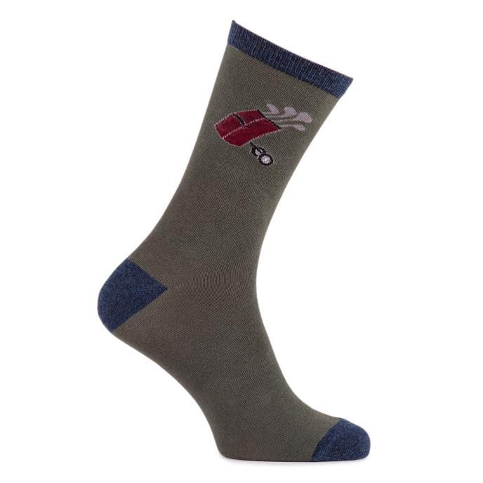 totes Mens Single Day Socks Golf