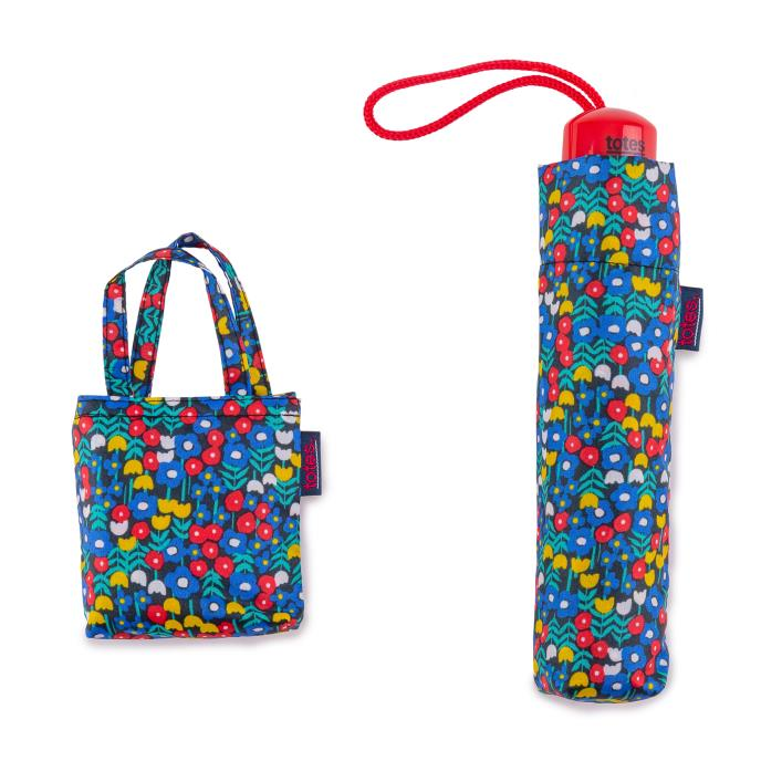 totes Supermini Retro Ditsy & Matching Bag in Bag shopper