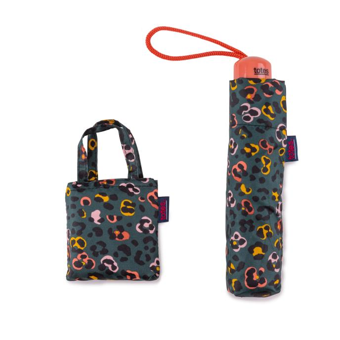 totes Supermini Animal Floral Print  & Matching Bag in Bag shopper (3 Section)