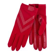 Isotoner Ladies Original Stretch Glove with Smartouch  Chilli Pepper