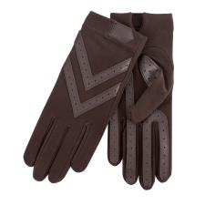 Isotoner Ladies Original Stretch Glove with Smartouch  Olive