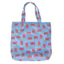 totes Union Jack Shopping Bag