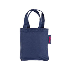 totes Plain Navy Shopping Bag