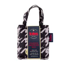 totes Bag in Bag Shopper Painted Dogtooth Print