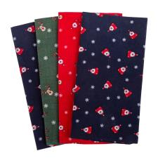 totes Mens Handkerchief Gift Set  (4 Pack) Novelty