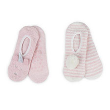 totes toasties Ladies Novelty Cosy Footsies (Twin Pack)