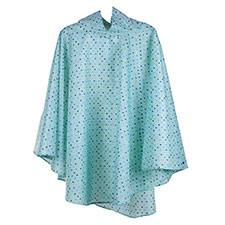 totes Painted Dot Poncho with Pocket