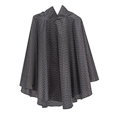 totes Wavy Dot Print Poncho with Pocket