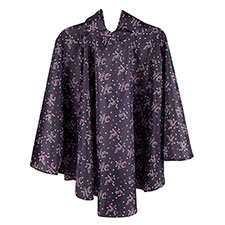totes Daisy Dot Print Poncho with Pocket