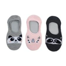 totes Knitted Footsie (3 Pack) Animal