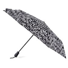 totes  Auto Open/Close Xtra Strong  B&W Animal Dash Print  Umbrella (3 Section)