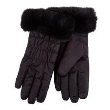 Isotoner Ladies Water Repellent Padded Glove Black