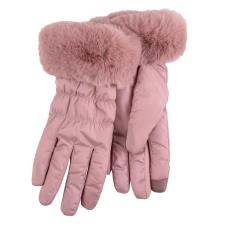 Isotoner Ladies Water Repellent Padded Glove Pink