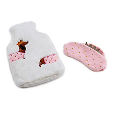 totes Ladies Hotwater Bottle & Eyemask Gift Set