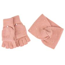 totes Ladies Headband & Glove Set Pink