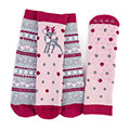 totes Girls Original Slipper Socks (Twin Pack)
