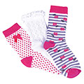 totes Ladies Untreaded Socks (3 Pack)