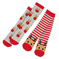 totes Unisex Kids Novelty Slipper Socks (Twin Pack)