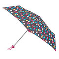 totes Supermini large raindrops Print Umbrella