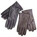 isotoner Mens 3 Point Leather Smartouch Gloves