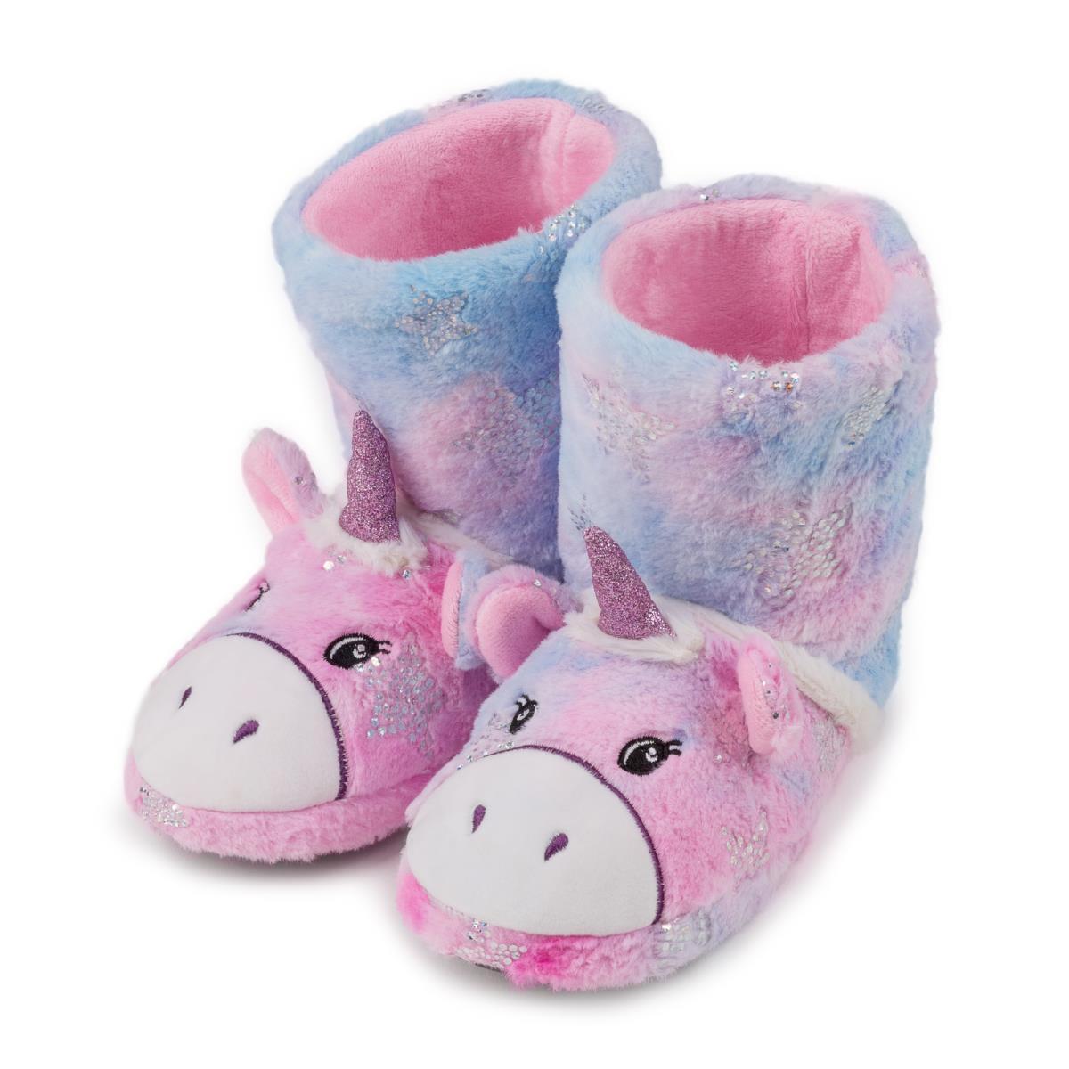0a4351c0289 totes Childrens Unicorn Slipper Boot Unicorn