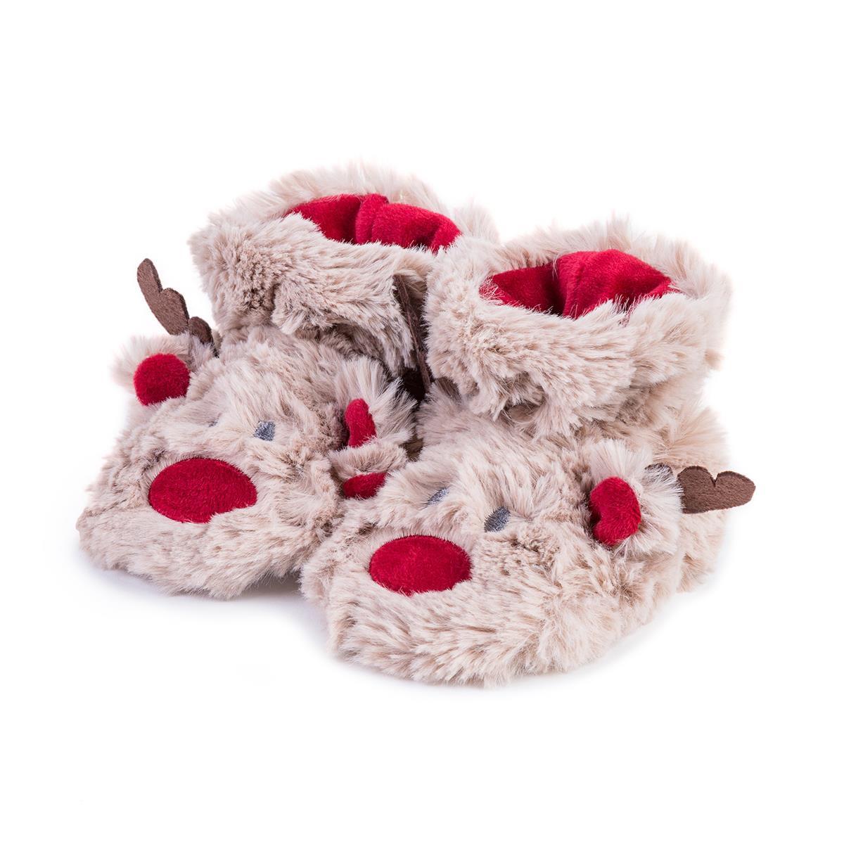 27ec552e653 totes Unisex Reindeer Slippers
