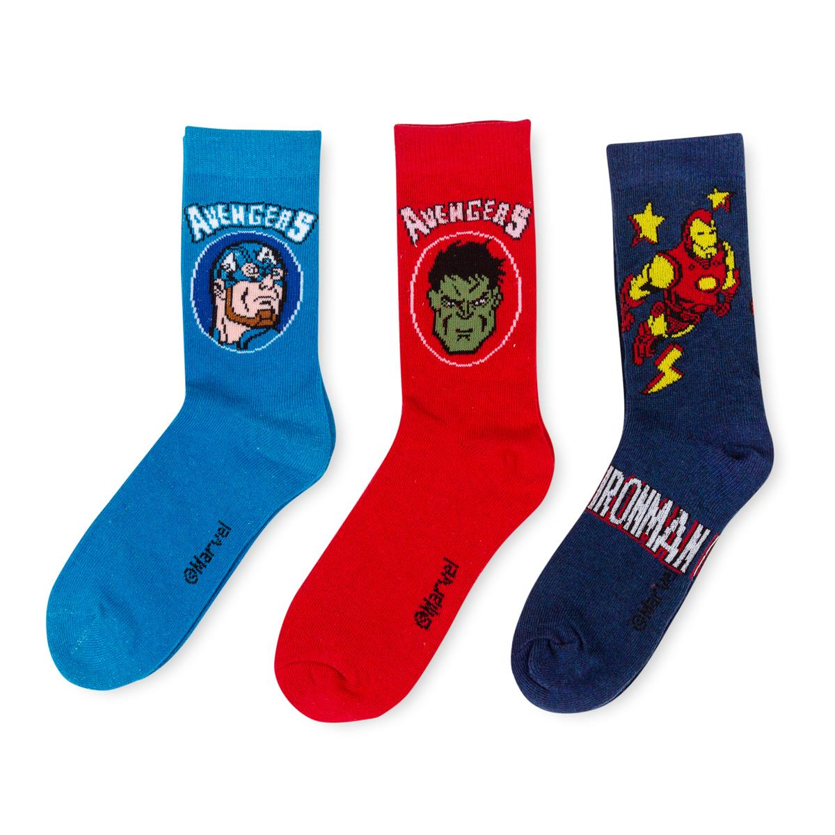 Assortment photos according to arrivals Socks Marvel Avengers for Boys