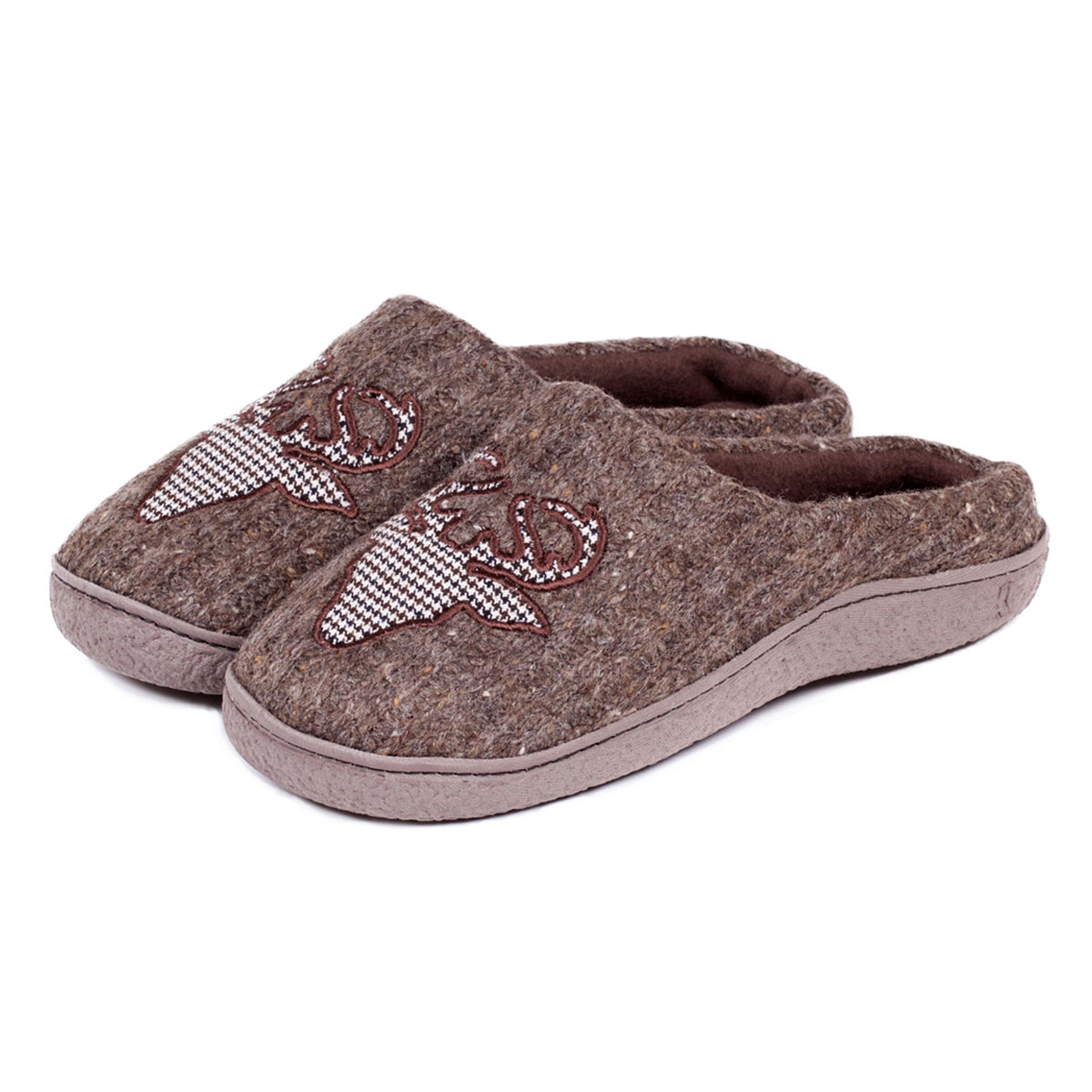 Isotoner Mens Novelty Mule Slippers Totes Isotoner