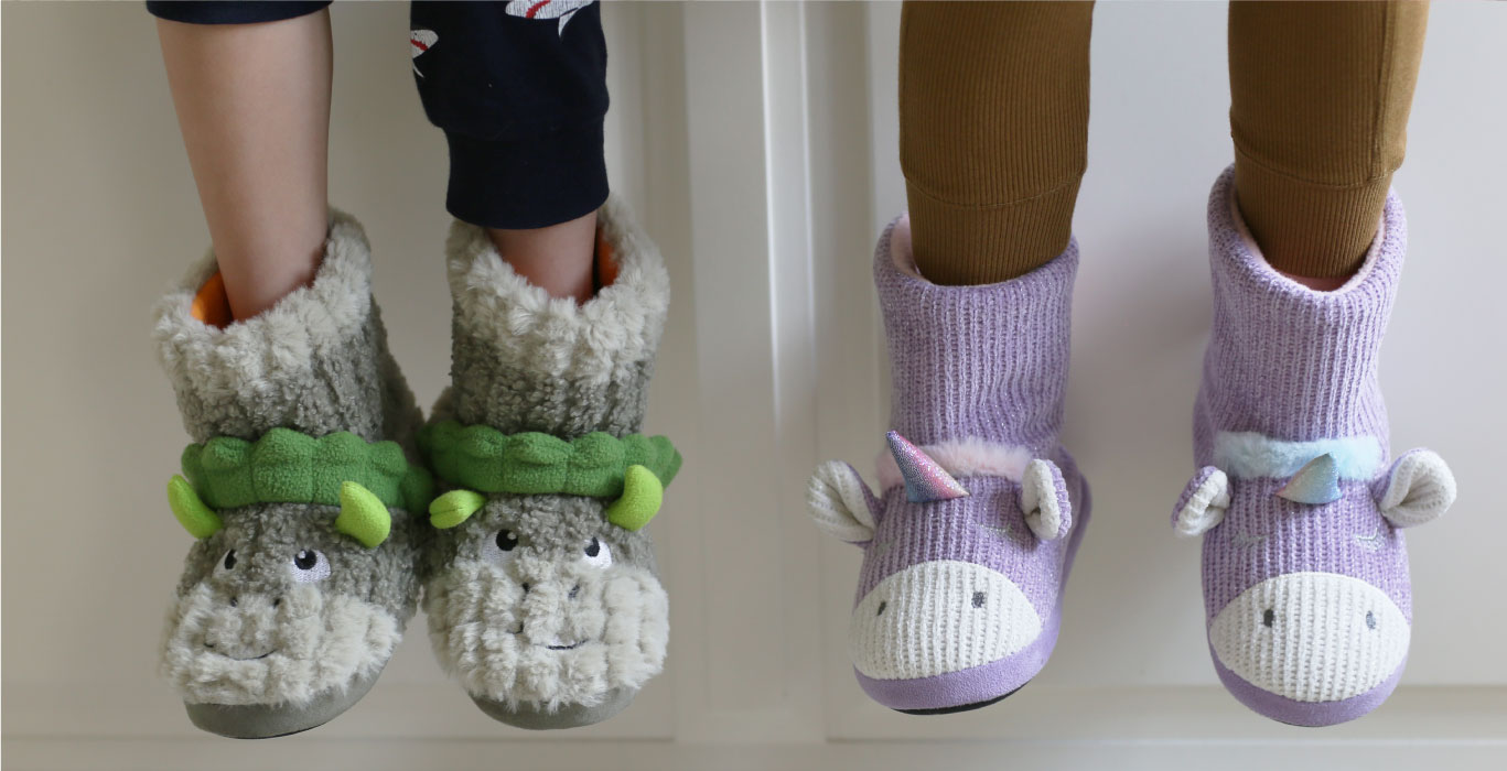 KIDS TOASTIES SLIPPER SOCKS