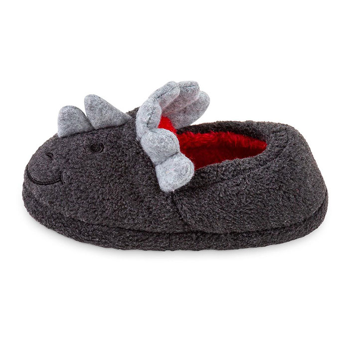 totes Childrens Novelty Slipper Dinosaur