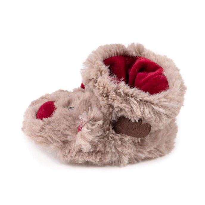 totes Childrens Unisex Slippers Reindeer