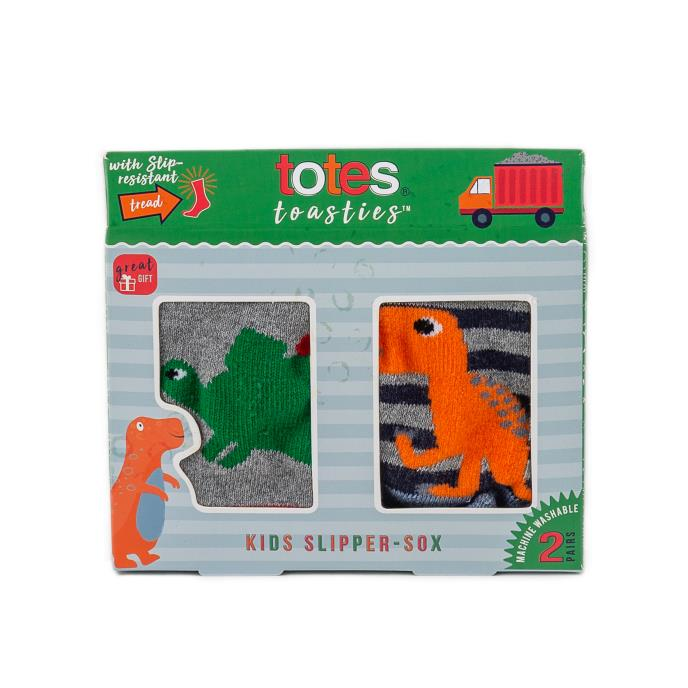Twin Pack totes Kids Original Novelty Slipper Sock