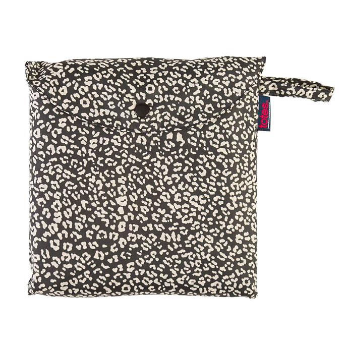 Totes Poncho tessuto con tasca separata Multi PANTHER stampa