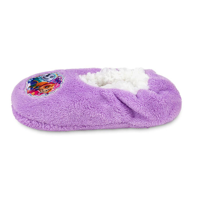 Kids Paw Patrol Footsie Purple