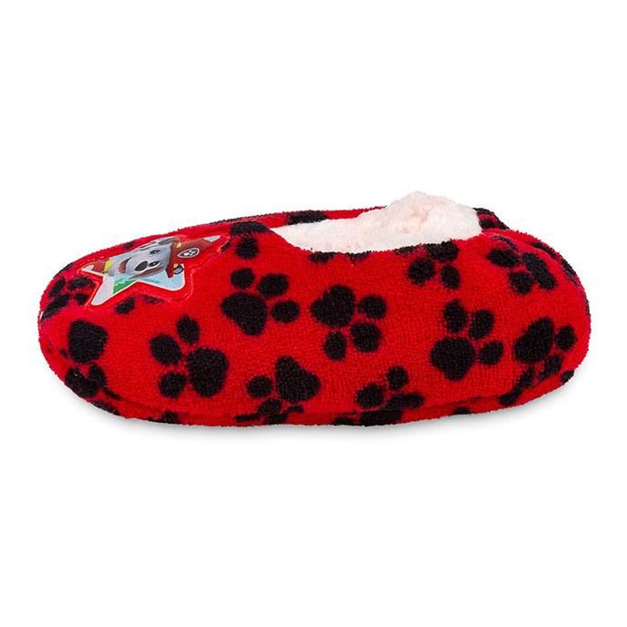 Kids Paw Patrol Footsie Red