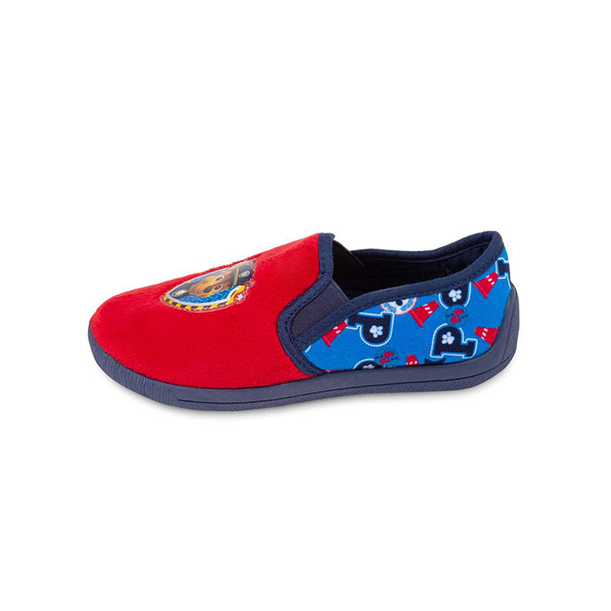 Children's Paw Patrol Slippers Red