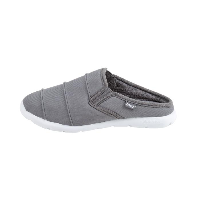 isotoner Ladies Zenz Retreat Swept Back Grey