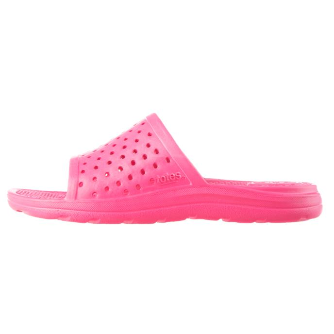 totes SOLBOUNCE Kids Perforated Slide Azalea