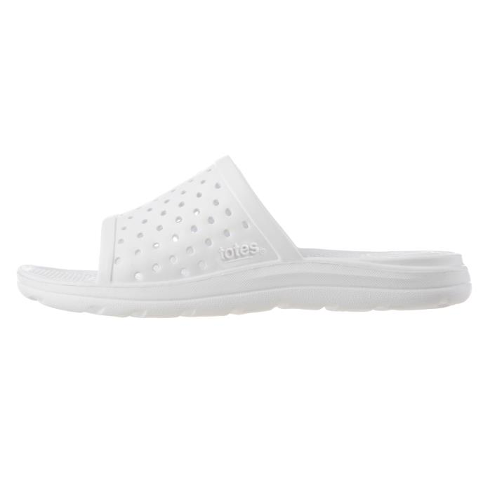 totes SOLBOUNCE Kids Perforated Slide White
