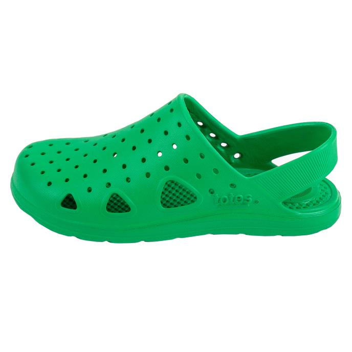 totes SOLBOUNCE Kids Clog Green
