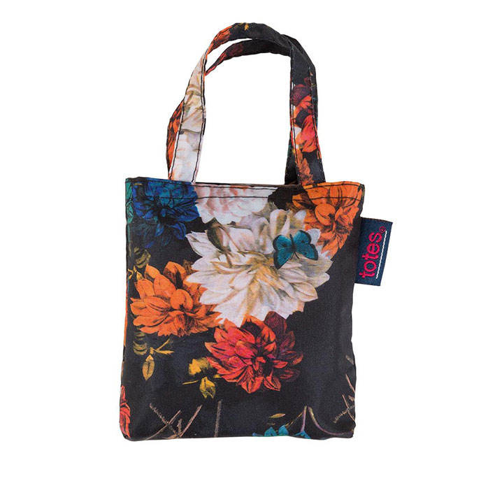 totes Photographic Floral Print Shopping Bag