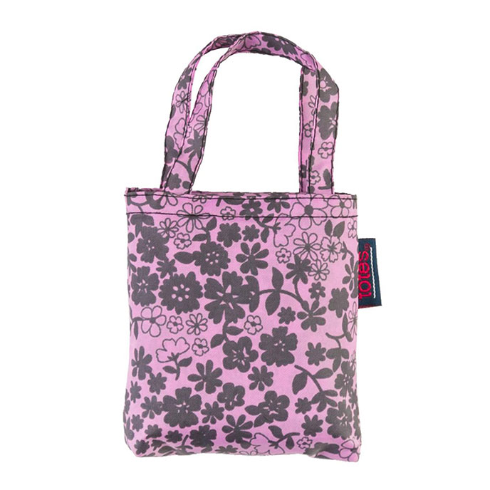 totes Lilac Ditsy Print Shopping Bag