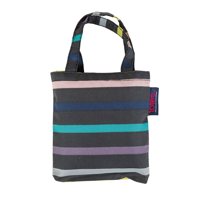totes Stripe Shopping Bag
