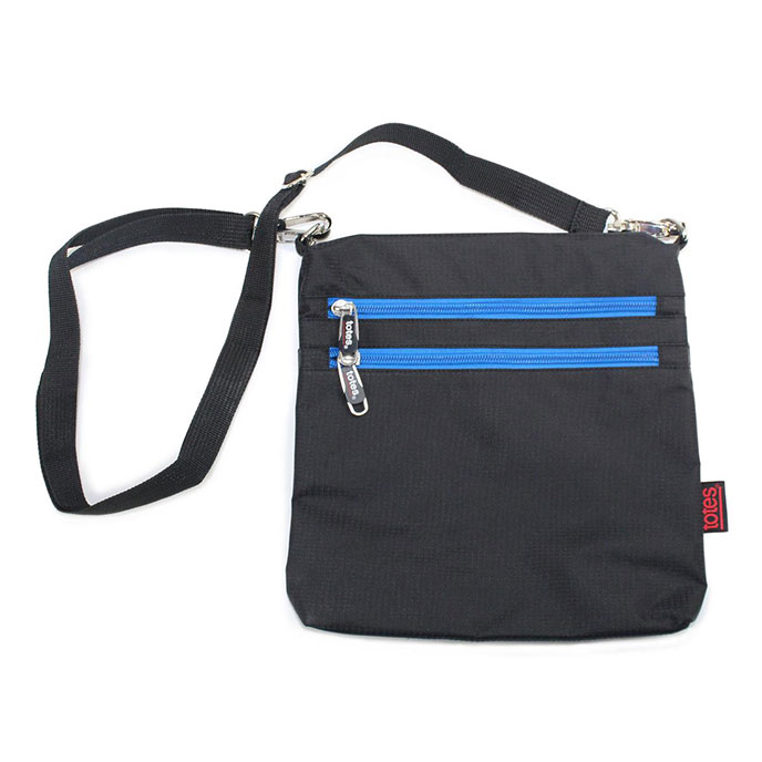 totes Zipped Flat Bag