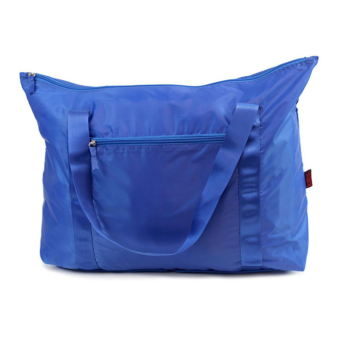 totes Folding Holdall Plain Blue