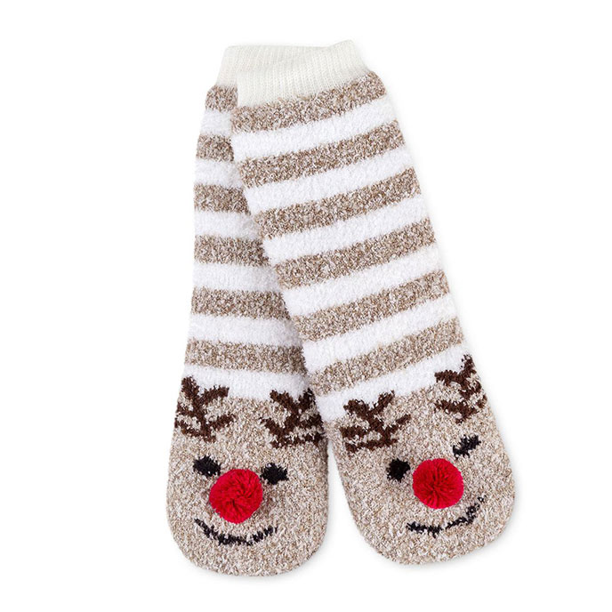 totes toasties Childrens Novelty Cosy Socks Reindeer
